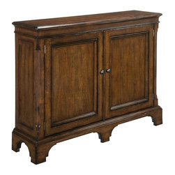 EuroLux Home - New Narrow Hall Cabinet Solid Wood Cherry - Product Details