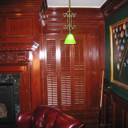 Traditional Style Shutters -