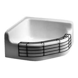 American Standard - American Standard 7745811 Floorwell Rim Guard - American Standard 7745.811 Floorwell Rim Guard For Mop Sink. You can find American Standard Commercial Sinks everywhere durable, dependable and nicely designed. Designed for hospitals, prisons, schools, ballparks and hotels.  For commercial / institutional use Enameled cast iron construction No sink hole drillings for faucet Rim guard not included