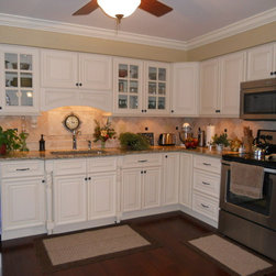 Oasis kitchen , Columbus home - home owner