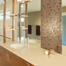 Contemporary Bathroom Vanities And Sink Consoles by Ash Pierce Design, LLC
