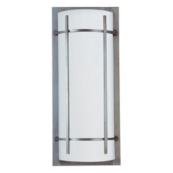 Maxim Lighting - Maxim Lighting 85216WTBM Luna Es 2 Light Outdoor Wall Lantern - Lighting your life since 1970, Maxim Lighting is committed to offering you outstanding quality and satisfaction.