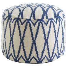 Contemporary Ottomans And Cubes by Wisteria