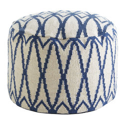 Diamond Pouf - Poufs — can't live without them. The texture, pattern and softness on this one are perfection. Granted, this may be more of a splurge, but I imagine my kids leaning up against it to read, sitting on it while their friends sit on the bed or using it as a footstool. It's the dash of unexpected that every space needs.