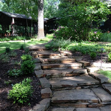 Rustic Landscape by Planned Environment Associates