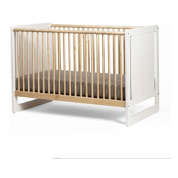 Oeuf Robin Crib - Oeuf Robin Crib- Made in Europe with sustainably sourced wood and painted in 100% natural water-based paint, the Robin crib by Oeuf is the epitome of eco-design. The Robin Crib converts to a toddler bed for when your child is ready!