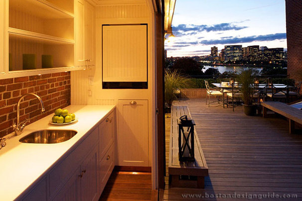 Traditional Deck by Boston Design Guide