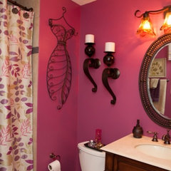 eclectic bathroom by Patty Lustig - Decor &amp; You