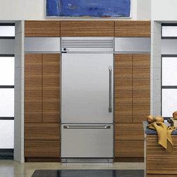 "36"" Professional Built-In Bottom-Freezer Refrigerator -"