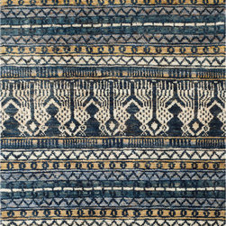 Safavieh - Safavieh Bohemian BOH648A, Blue, 5'x8' Rug - Safavieh's Bohemian Collection is all-organic, with exquisitely fine jute pile woven onto a cotton warp and weft, and an earthy natural color palette. The high quality jute chosen for our Bohemian rugs is biodegradable and recyclable, with an innate sheen because it is harvested only from true hemp, a quickly renewable resource that excels in length, durability, anti-mildew and antimicrobial properties. Safavieh brings fashion excitement to the eco-friendly rug category with the Bohemian collection's unique patterns, ribbed textures and remarkable hand. The rugs are washed to soften the yarn, and then brushed to an even more lustrous sheen.