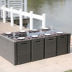 Custom Outdoor Dining Furniture - Modern  dining set by north88 outdoor