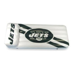 Sc Sports / Sc Christmas - New York Jets Inflatable Pool Float/Mattress - Make a big splash with your favorite football team at your next pool party with this great, inflatable pool float/mattress. This colorful float/mattress boldly features your team's logo and colors. Headrest included.