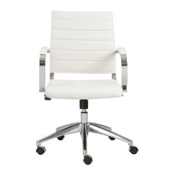 Modern Mid-Back Conference Chair -