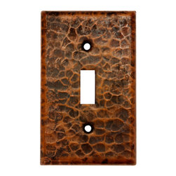 Premier Copper Products - Premier Copper Products ST1 Copper Switchplate Single Toggle Switch Cover - Copper Switchplate Single Toggle Switch Cover