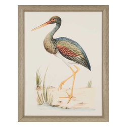 Paragon - Water Bird II - Framed Art - Each product is custom made upon order so there might be small variations from the picture displayed. No two pieces are exactly alike.