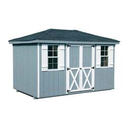 Fifthroom - Dura-Temp Siding Hip Roof Sheds -