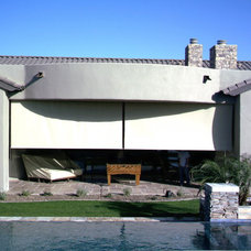 Modern Roller Blinds by Solar Shading Systems