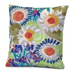 Missoni Home - Missoni Home   Orange Pillow 12x12 - Design by Rosita Missoni.