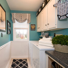 Traditional Laundry Room by Decorating Den Interiors- Corporate Headquarters