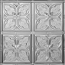 """Decorative Ceiling Tiles - Tom's Flower - Aluminum Ceiling Tile - 24""""x24"""" - #1217 - Find copper, tin, aluminum and more styles of real metal ceiling tiles at affordable prices . We carry a huge selection and are always adding new style to our inventory."""