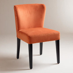 Spice Chloe Dining Chairs - Add some spice to your dining room table with these coral chairs.