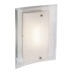 Trans Globe Lighting - Trans Globe Lighting MDN-1027 Wall Sconce In Polished Chrome - Part Number: MDN-1027