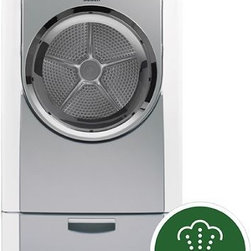 Bosch Nexxt Series Electric Dryer - The Nexxt® 800 Series Dryers are not only superior in energy efficiency but also are among the quietest in the U.S. Specially designed noise-dampening and vibration resistance technology combined with 15 tailored drying programs deliver Bosch's superior performance to your home. \