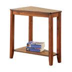 Steve Silver Company - Steve Silver Company Joel Chairside End Table in Oak Finish - Steve Silver Company - End Tables - JL100EK