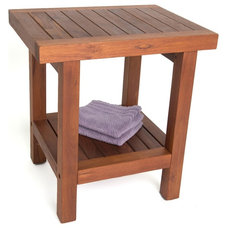 Contemporary Shower Benches & Seats by Aqua Teak