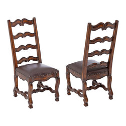 Ambella Home - New Ambella Home Dining Chair Set 6 Leather - Product Details