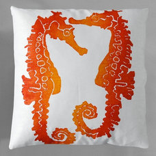 eclectic bed pillows and pillowcases by Designer Pillow Shop