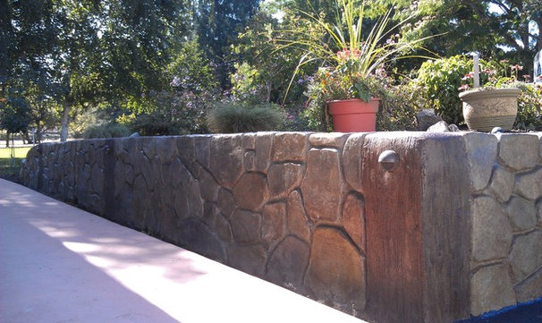 Eclectic Landscaping Stones And Pavers by A & K Landscaping