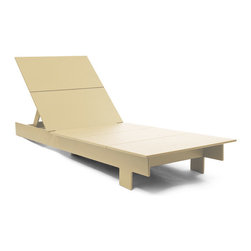 Loll Designs - Lollygagger Chaise, Sand - The Lollygagger Chaise is an important part of our Lollygagger family collection as it truly is intended for extended relaxing; even napping. The lighter weight of the piece makes it easy to swing around with the direct rays of the sun. The back adjusts to six different angles so when you need a break from the action the Lollygagger Chaise accommodates your mood swings without asking questions. The Lollygagger Chaise pairs well with the Lollygagger Ottoman (Side Table) to hold your favorite beverage and other sun bathing related accessories.