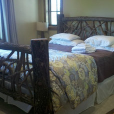 Rustic Beds by Abby Design and Construction