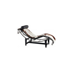 Designer Chaise - Buy Le Corbusier Chaise Lounge in Pony Skin from http://www.interiortradefurniture.com/designer-furniture/designer-chaise/le-corbusier-chaise-lounge-in-pony-skin.html