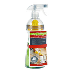 Full Circle - Full Circle Come Clean Natural Cleaning Spray Bottle - Harsh chemicals are so 20th century! This eco-friendly bottle makes it super easy to create, organize and store your own safe, effective and natural household cleaning solutions: