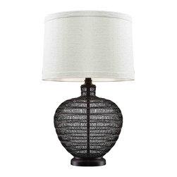 Dimond Lighting - Dimond Lighting D2270 Lincoln Bronze Table Lamp - Dimond Lighting D2270 Lincoln Bronze Table Lamp