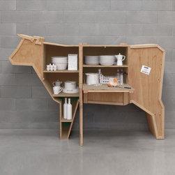 Seletti - Cow Sending Animals Wooden Furniture | Seletti - Design by Marcantonio Raimondi Malerba.