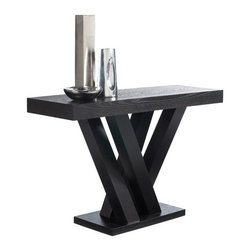 """Sunpan Modern - Madero Console Table - Features: -Material: Ash and Ash veneer.-Inspired by groups of tree trunks sprouting from the earth.-Gives the table an almost organic look while the clean lines remain very modern.-Please note that although every attempt has been made to ensure accuracy, all dimensions are approximate and colors may vary slightly.-Madero collection.-Collection: Madero.-Distressed: No.Dimensions: -Overall Height - Top to Bottom: 29.5"""".-Overall Width - Side to Side: 47.25"""".-Overall Depth - Front to Back: 15.75"""".-Table Top Thickness: 3"""".-Table Top Width - Side to Side: 47.25"""".-Table Top Depth - Front to Back: 15.75"""".-Legs: Yes.-Overall Product Weight: 81 lbs.Warranty: -This item is deemed acceptable for both residential and nonresidential environments such as restaurants, hotels, lounges, offices and reception areas. Please note that this item carries the manufacturer's standard one year warranty from the date of purchase. ."""