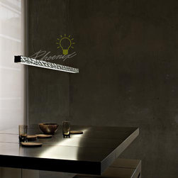 Long and Hard Suspension Light - Design by Philippe Starck, 2005.