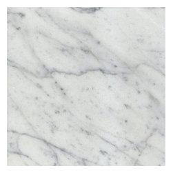 "White Carrara Marble Polished Floor Tiles 18"" x 18"" - 18"" x 18"" x 1cm thick Full solid Italian Bianco Carrara White Polished Marble Tiles. Each tile is 2.25 sqft."