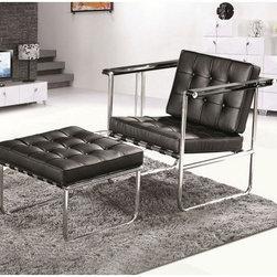 Celona Chair Set w/ Ottoman -