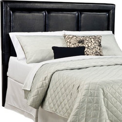 """Standard Furniture - Carson Upholstered Headboard - Carson features a look that is sure to engage your child's room with comfort and innovative style. Features: -Upholstered.-Allows space for decorative pillows.-Carson collection.-Gloss Finish: No.-Solid Wood Construction: No.-Powder Coated Finish: No.-Non Toxic: Yes.-Scratch Resistant: No.-Adjustable Height: No.-Lighting Included: No.-Wall Mounted: No.-Reversible: No.-Media Outlet Hole: No.-Built In Outlets: No.-Adjustable Shelves: No.-Finished Back: No.-Distressed: No.-Hidden Storage: No.-Freestanding: No.-Frame Required: Yes.-Frame Included: No.-Drill Holes for Frame: Yes.-Swatch Available: No.-Eco-Friendly: Yes.-Commercial Use: Yes.-Recycled Content: No.Specifications: -EPP Compliant: Yes.-CPSIA or CPSC Compliant: Yes.-CARB Compliant: Yes.-JPMA Certified: No.-ASTM Certified: No.-ISTA 3A Certified: No.-PEFC Certified: No.-Green Guard Certified (Green Guard Certified) : No.Dimensions: -Overall Height - Top to Bottom (Size: Twin): 50"""".-Overall Height - Top to Bottom (Size: Full): 51"""".-Overall Height - Top to Bottom (Size: Queen): 53"""".-Overall Width - Side to Side (Size: Twin): 42"""".-Overall Width - Side to Side (Size: Full): 57"""".-Overall Width - Side to Side (Size: Queen): 63"""".-Overall Depth - Front to Back (Size: Twin, Full, Queen): 3"""".-Overall Product Weight (Size: Twin): 36 lbs.-Overall Product Weight (Size: Queen): 56 lbs.-Overall Product Weight (Size: Full): 48 lbs."""