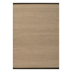 Surya - Gentle Hand Loomed Rug in Charcoal and Olive (2' x 3') - This unique rug is created on the handloom using very high quality materials: leather, cotton and paper straw. Nice palette of tGentle Hand Loomed Rug in Charcoal and Olive will make your interior rigorous and elegant.    Features: