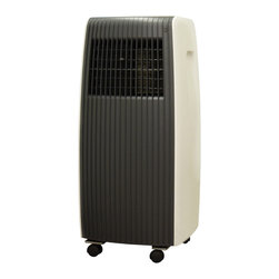 Sunpentown - 8,000BTU Portable Air Conditioner - Stay COOL and breathe fresher air with the WA-8070E. Enjoy many cool and comfortable summers with this air conditioner unit. Cooling, dehumidifying and fan featured all in one. Powered by 8,000btu cooling capacity, it ideally cools an area up to 250 sq. ft., perfect for a small bedroom or office space.