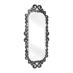 ZUO PURE - Shiva Mirror Black - With its many facets and angles, these chic mirrors are handcrafted with a solid back and dual wires for multiple hanging positions.