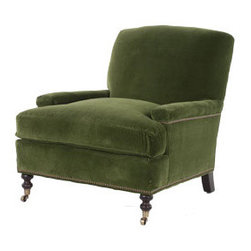The Kennedy Chair - This would be the perfect chair (handsome and comfortable) if you want your guests to linger!