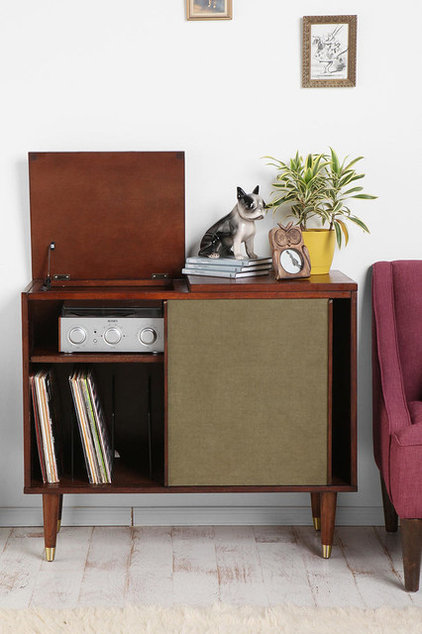 Eclectic Media Storage by Urban Outfitters