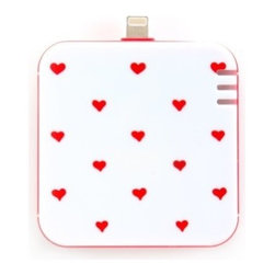 ban.do - Ban.do Mobile Charger, Back Me Up, Hearts - Be the one to have a fun with our Ban.do Back Me Up Mobile Charger. Give your mobile extra life with our cute and compact chargers, youll look forward to running out of juice.