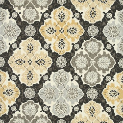 Loloi Rugs - Loloi Rugs Francesca Charcoal-Multi Transitional Hand Hooked Rug - If your lifestyle is fresh, spirited and informal, the intricately hand-hooked Francesca Collection is for you. These richly textured designs range from boldly scaled florals and architectural gate patterns to geometric chevron stripes and pretty paisleys. Crafted to reflect your personal style, each Francesca rug is made in China of 100-percent polyester with fibers that are stain- and moisture-resistant. That means colors will remain vibrant today and tomorrow, whether you place your rug in a sunroom, kitchen, family room or foyer.